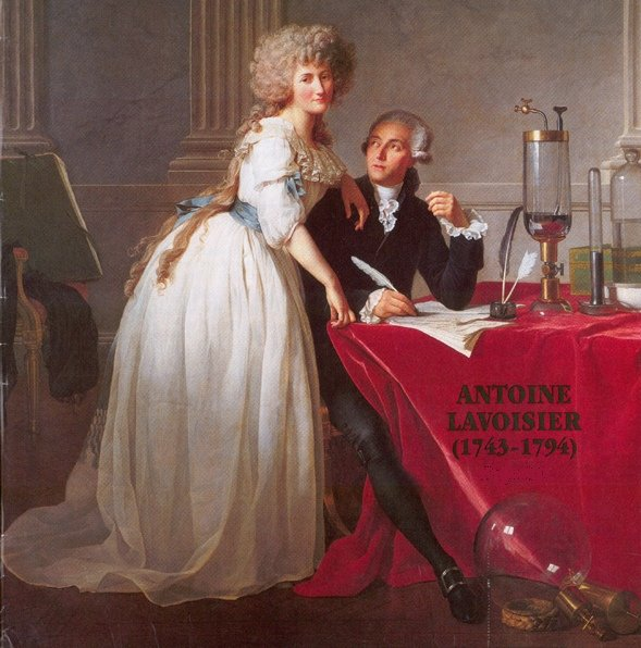 picture of Antoine Lavoisier