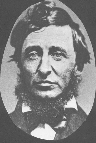 picture of Henry Thoreau
