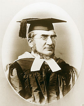 picture of Rabbi Abraham de Sola