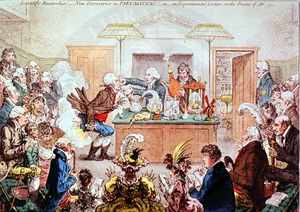 caricature by James Gillray