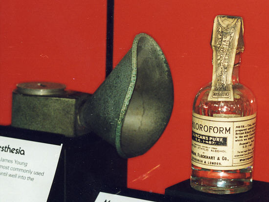 picture of E.W. Murphy's Chloroform Inhaler